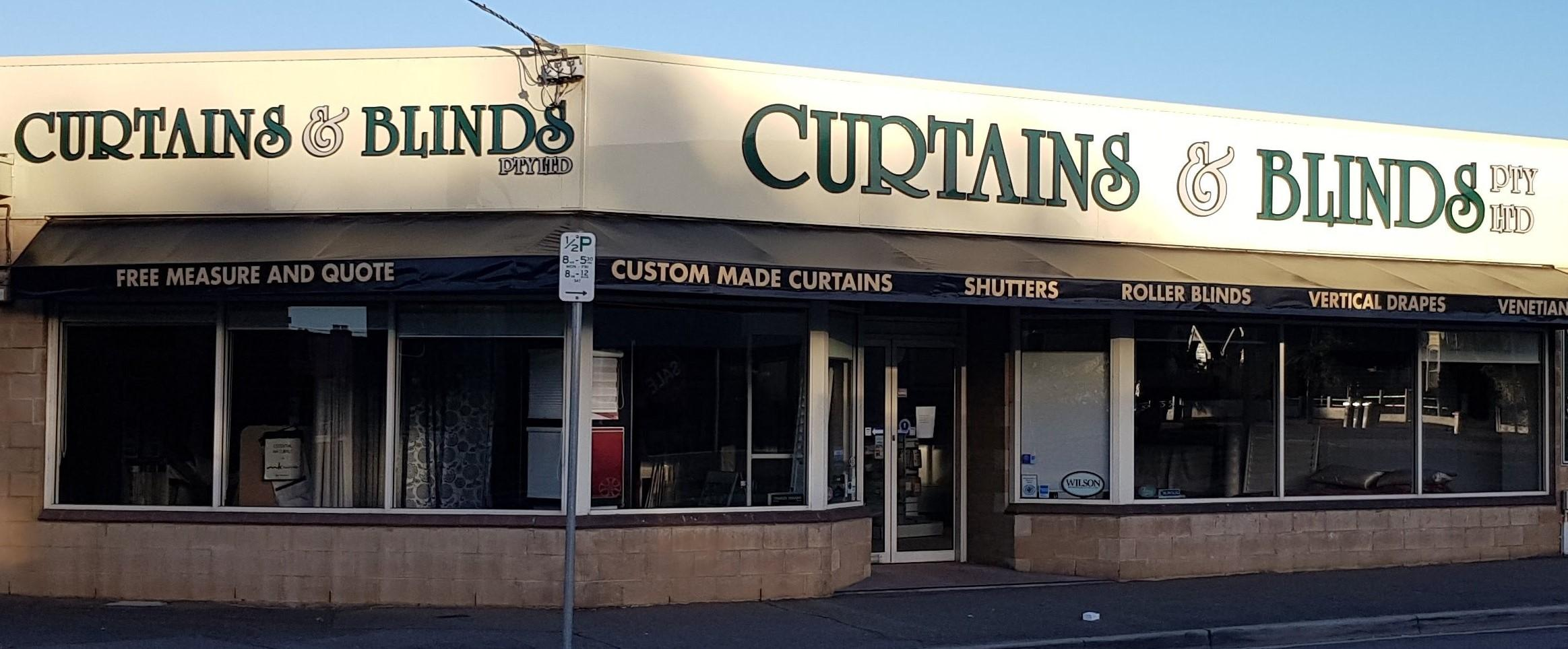 Welcome to Curtains & Blinds Launceston